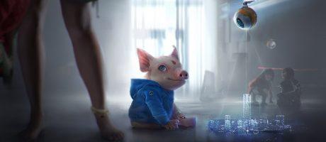 BGE2 Hybrid Pig Toy