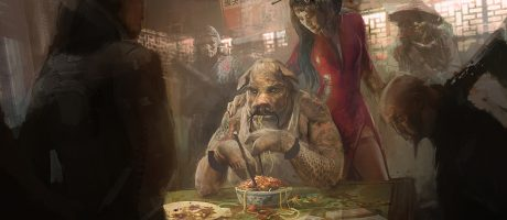 Concept Art: Zhou Yuzhu and Li Daiyu, Ganesha City